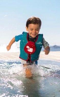 Chaleco flotador natación niños Nabaiji espuma