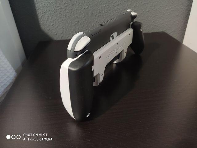 Switch lite + pro grip + case