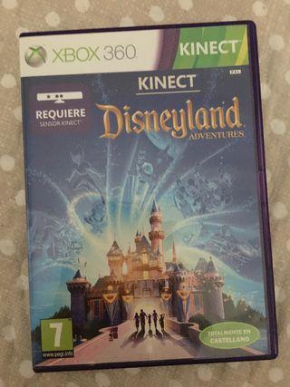 Disneyland para Xbox360 con Kinect