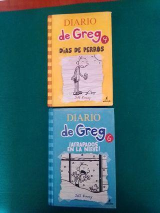 "Pack ""Diario de Greg"" Jeff Kinney"