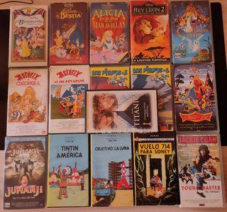 CINTAS VHS VARIADAS