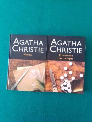 Pack de libros Agatha Christie
