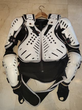 Peto coraza motocross