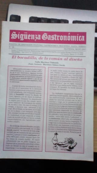 Sigüenza Gastronómica Nº36.