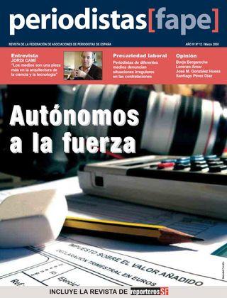 Periodistas, nº 12, marzo 2008.