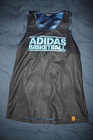 Camiseta de tirantes azul Adidas
