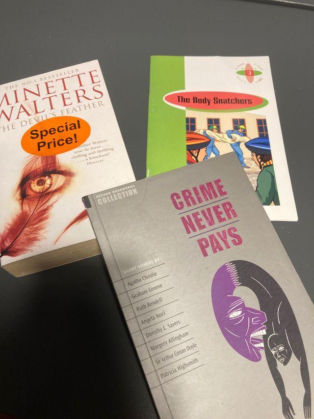 Pack libros juvenil en inglés