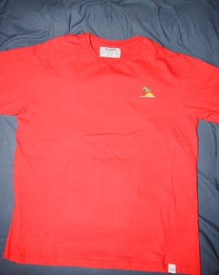 Camiseta Roja Pull & Bear