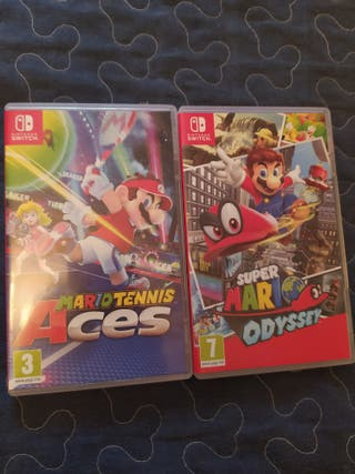 2 juegos Nintendo Switch