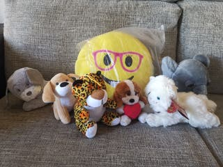 Lote 7 peluches