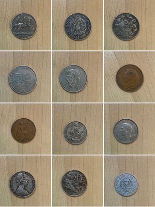 Monedas antiguas de Albania grecias inglitera