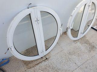 Ventanas redondas de aluminio