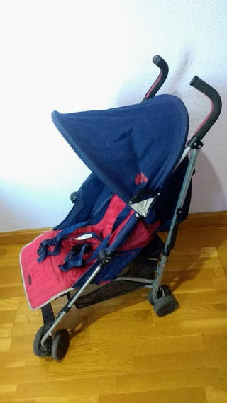 Silla de paseo Maclaren QUEST Azul / Roja