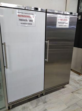 Armario frigorífico y congelación bandejas 60x40