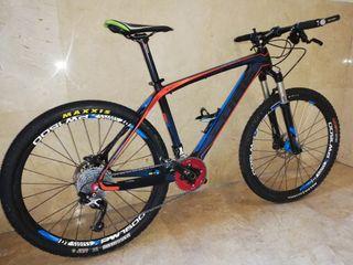 """Bici MTB CUBE ELITE SCR de Carbono, 26"""", Talla: M"""