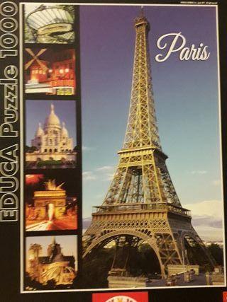Puzzle 1000 piezas Paris EDUCA