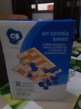 set lotería de bingo