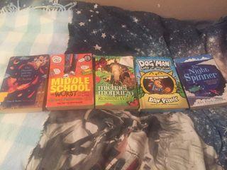 5 books