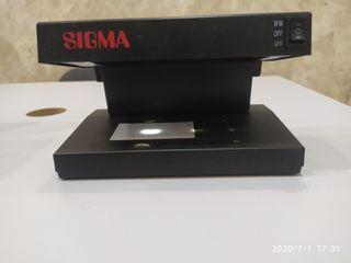 Comprobador de billetes marca Sigma