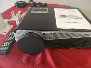 PROYECTOR XSAGON HL 580 HD, WIFI, BLUETOOTH,HDMI,