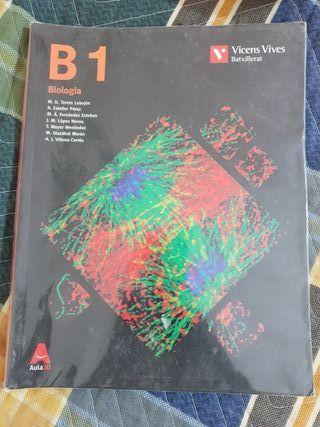 Libro Biología primero de bachillerato