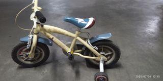 Bicicleta Capitán América 2 a 4 años