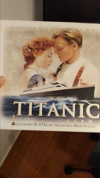 VHS Titanic para coleccionistas