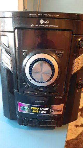 Minicadena LG Hi-Fi MCD 104