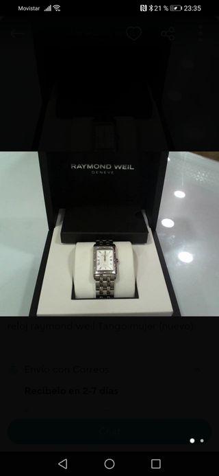 reloj Raymond Weil tango mujer (nuevo)