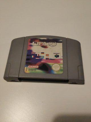 FIFA 98 para Nintendo 64