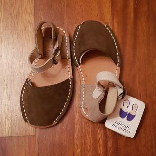Sandalias menorquinas Avarca Mibo Cosits NUEVAS