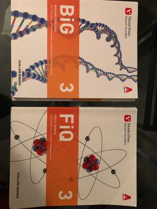 Libros de Naturales 3°ESO
