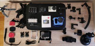 GoPro 4 Black Edition Adventure más accesorios