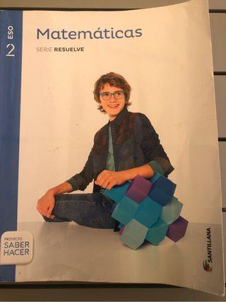 Libro de texto 2 Eso Matemáticas Santillana