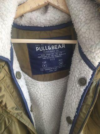 Abrigo Pull&bear hombre
