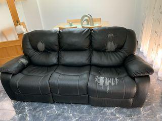 Sofa 3 + 1 relax para tapizar Muy cómodos