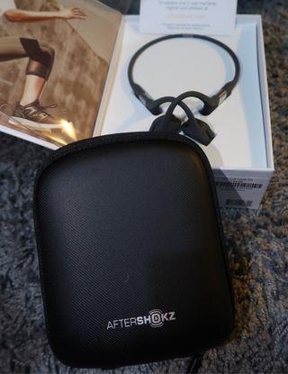 Aeropex bone wireless connection headphones