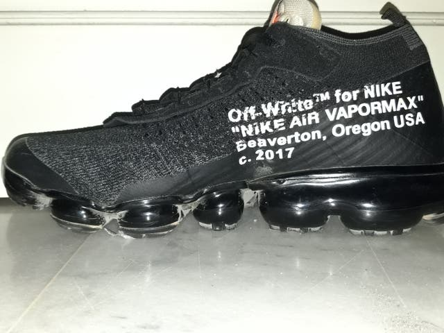 nike vapormax × off white