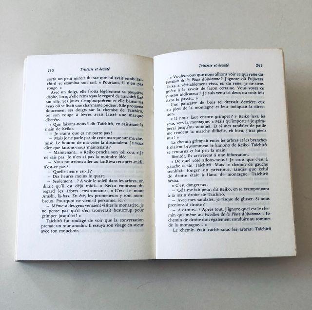 Tristesse et beauté, roman de Yasunari Kawabata