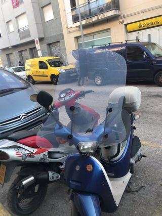 Para viento moto