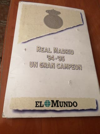 REAL Madrid 94_95 le falta una chapa