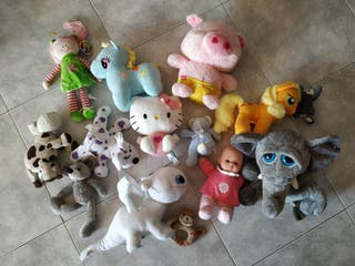 lote, pack de peluches