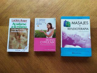Varios libros y clases (via cd) para el bienestar