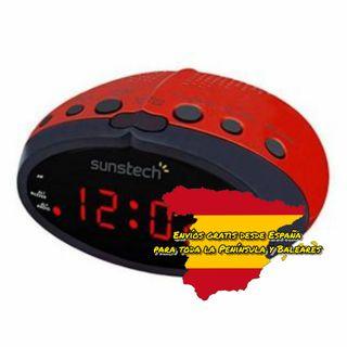 Radio FM-AM Suntech con despertador - S0402507