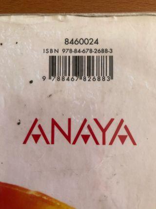Libro matemáticas ,1 bachillerato ,Anaya
