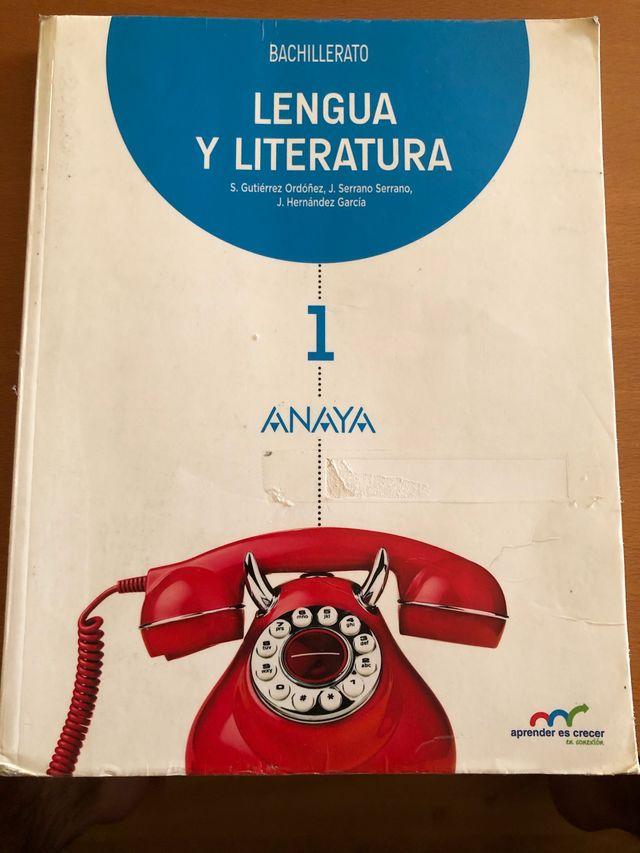 Libro lengua y literatura, 1 bachillerato
