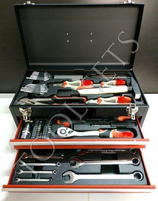 Caja herramientas con cajones (80 piezas).