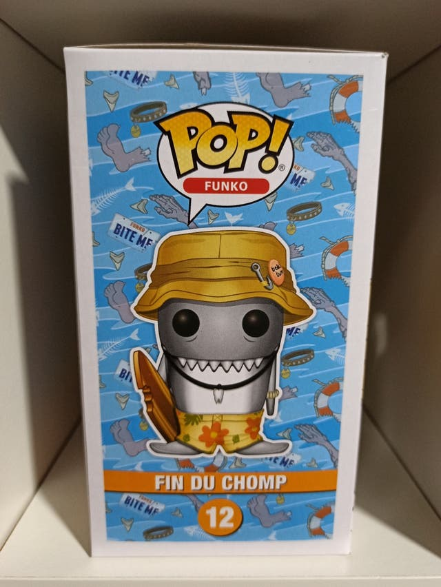 Funko pop! Fin du chomp (variante naranja) 12