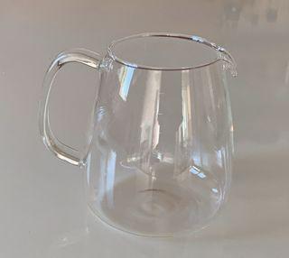 Pichet ou théière de verre gradué 1litre