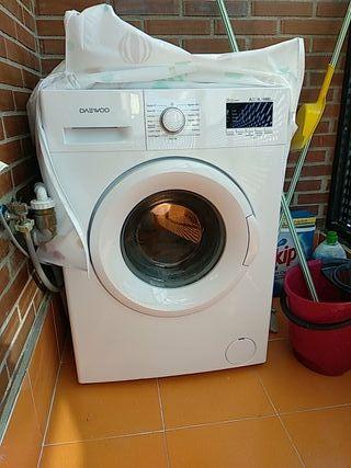 lavadora Daewoo 6 kgs